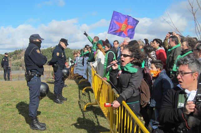 Manifestación a favor de la Escuela Pública en Valladolid