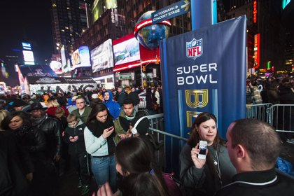 Super Bowl registra récord de audiencia televisiva