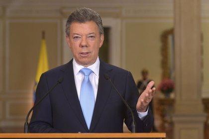 """Santos: Colombia está """"en el mejor momento de su historia"""" en seguridad"""