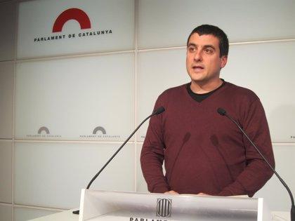 Candidatura de Unidad Popular pide un grupo de trabajo en el Parlamento catalán para elaborar la ley catalana