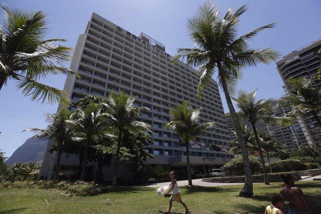 Royal Tulip hotel, alojamiento de Inglaterra para el Mundial de Brasil