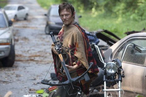 Daryl Dixon (Norman Reedus)  The Walking Dead Season 3, Episode 5 - Photo Cre