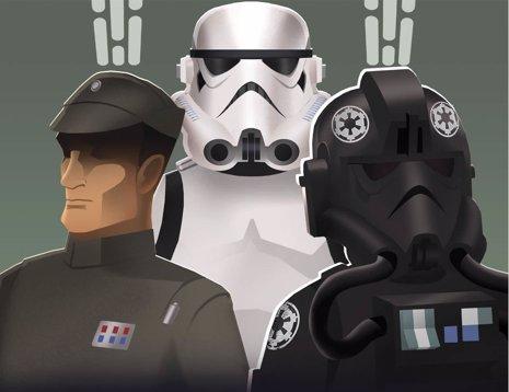 Star Wars Rebels: Propaganda imperial