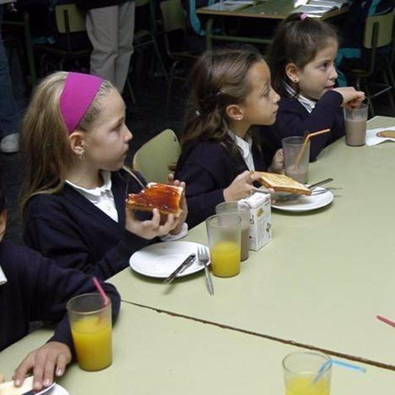 Educación publicará este mes la nueva normativa de comedores escolares
