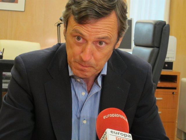 Rafael Hernando, potravoz adjunto del PP en el Congreso