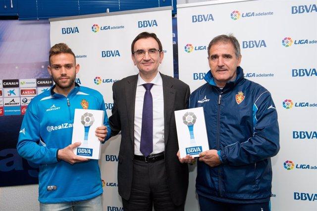 Roger Martí, José Angel Rivera y Paco Herrera