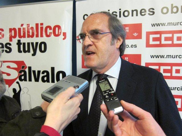 El ex ministro de Educación y catedrático de Filosofía, Ángel Gabilondo