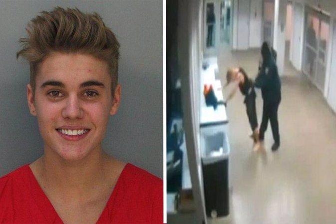 El vídeo del cacheo de Justin Bieber