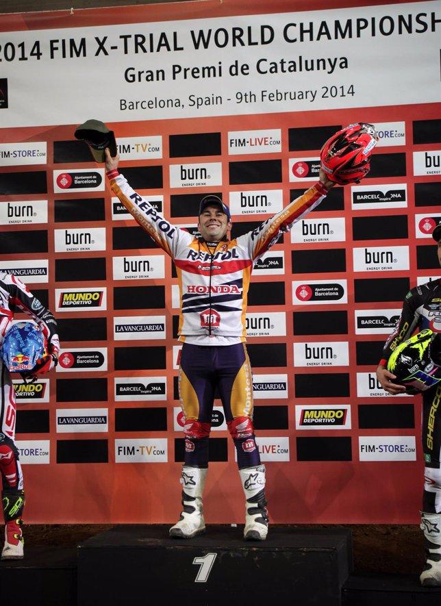 Toni Bou vence en Barcelona y da un paso hacia su octavo mundial