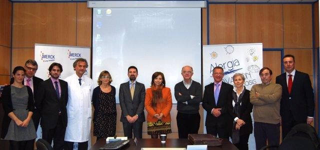 Inauguración laboratorio de alergia de Merck en Tres Cantos