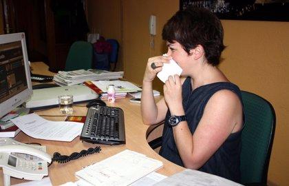 El miércoles es el día que hay más absentismo laboral por los síntomas de la gripe y el resfriado