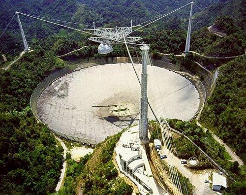 El SETI busca señales alienígenas desde Arecibo