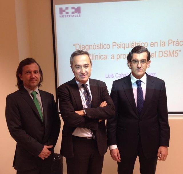 2014 02 10 De Izda. A Dcha. Los Dres. Jesús Peláez, Luis Caballero Y Juan Abarca