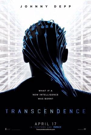 Primer póster de Trascendence