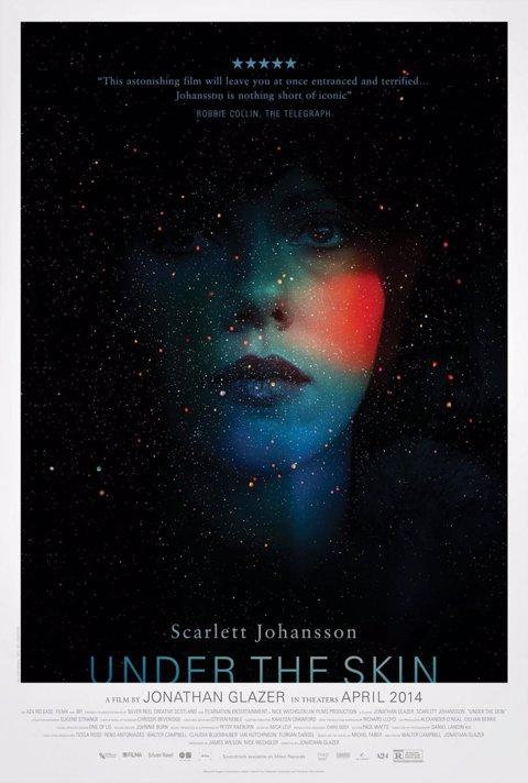Primero póster de Under the skin