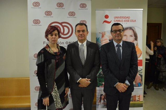 Firma convenio Fundación ONCE y Universidad Camilo José Cela