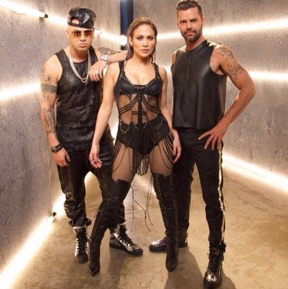 Jennifer López, Ricky Martin y Wisin, juntos en 'Adrenalina'