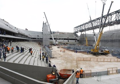 Paraná pide préstamo para finalizar el estadio Arena da Baixada