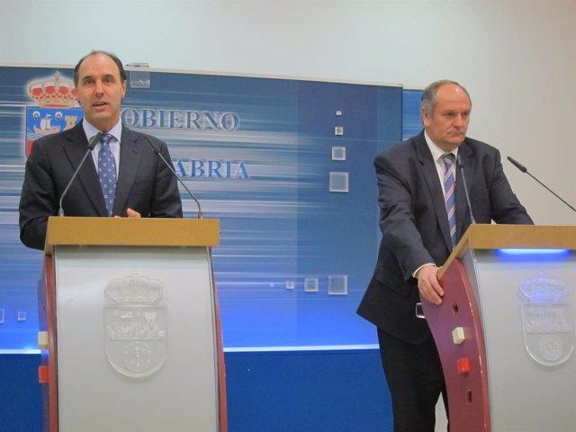Ignacio Diego y Javier Fernández