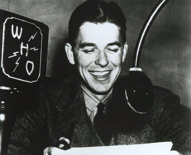 Ronald Reagan as a WHO Radio