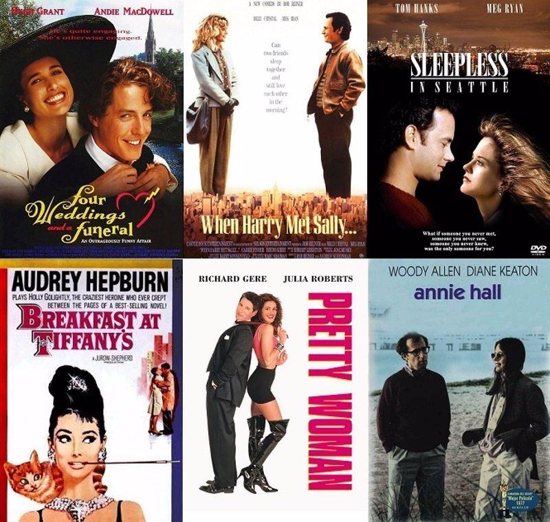 Las 10 comedias románticas que no te puedes perder