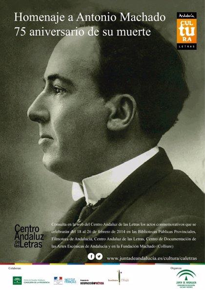 El CAL conmemora desde la próxima semana el 75 aniversario de la muerte del poeta Antonio Machado