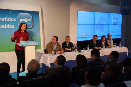 El PP abre su intermunicipal centrado en los pueblos y en las reformas del Gobierno