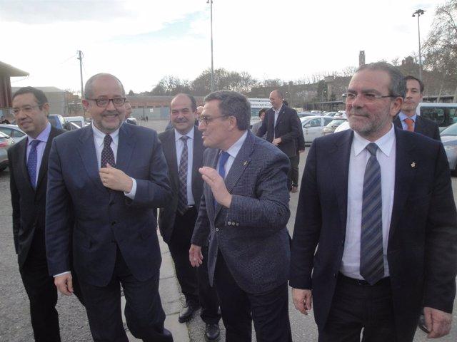 F.Puig, À.Ros y J.Reñé
