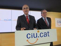 El secretario general de CiU, Josep Antoni Duran