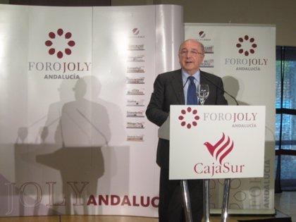 """Almunia cree que el sistema tributario español """"tiene un problema serio de ingresos"""" y es partidario de bajar impuestos"""