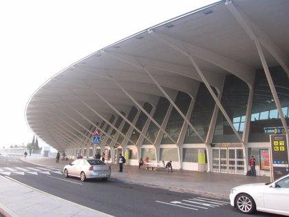 Desviados 7 vuelos que tenían como destino Bilbao y canceladas nueve operaciones