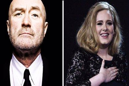Phill Collins reaparece en la música para crear una canción con Adele
