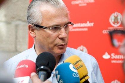 """Garzón avala que los catalanes voten sobre algo que """"está en el derecho de los pueblos"""""""