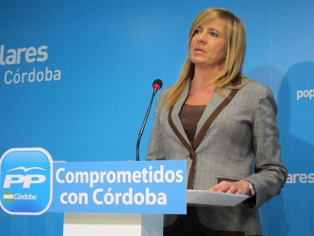 La portavoz adjunta del PP-A en el Parlamento andaluz, Rosario Alarcón