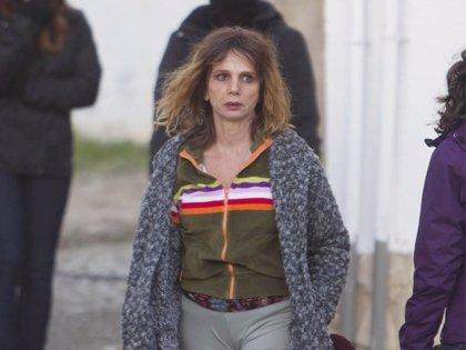 Victoria Abril, embarazada y desaliñada por exigencias del guión