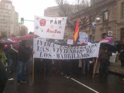 Manifestación por la venta de las 3.000 viviendas del IVIMA