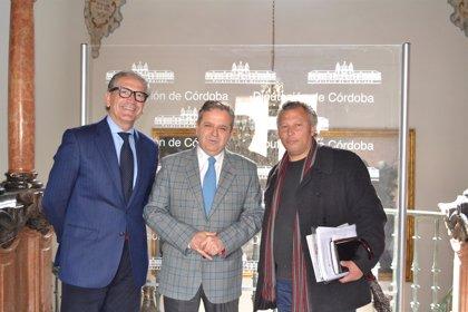 Córdoba.- Cultura.- La Diputación analiza colaborar con Centro Cultural Rom