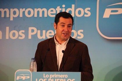 """Moreno se marca como reto ser el primer presidente de centro derecha de la historia porque PP-A """"ha vuelto para ganar"""""""