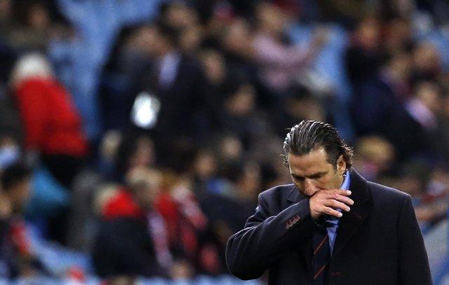 Juan Antonio Pizzi, entrenador del Valencia