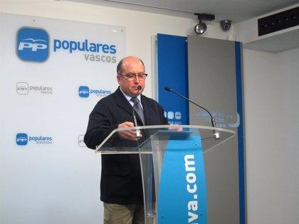 """Barrio enmarca las declaraciones de Ortuzar sobre líderes del PP dentro de la """"loca carrera de PNV por pactar con Bildu"""""""