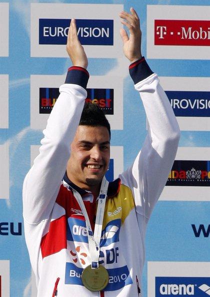 Javier Illana, medalla de plata en el GP FINA de Madrid