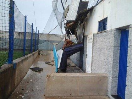 La borrasca provoca 38 incidencias en la capital grancanaria