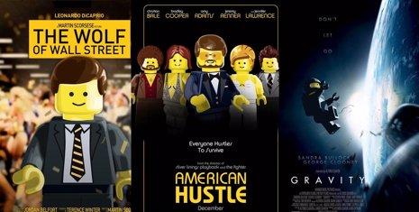 Nominadas en versión LEGO
