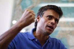 El líder opositor venezolano Leolpoldo López
