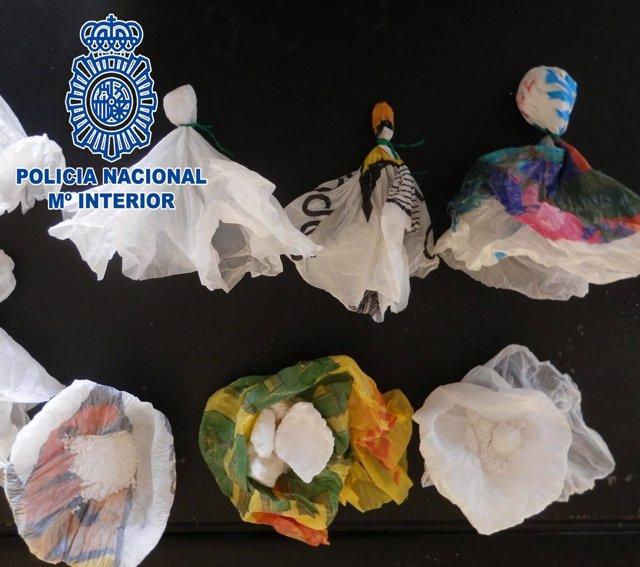 Policía Nacional desmantela un punto de venta de droga en Molina de Segura