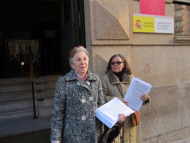 Marcelina Elviro E IU Presentan Impugnación De Presupuestos De Cáceres
