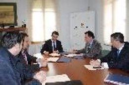 Reunión y firma de acuerdo entre SFM e IMAF