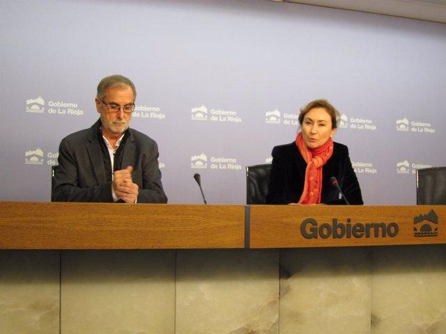 García del Moral y Martín presentan jornada viticultura sostenible