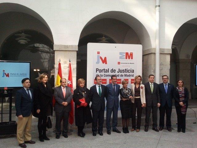 Presentación del Portal de la Justicia
