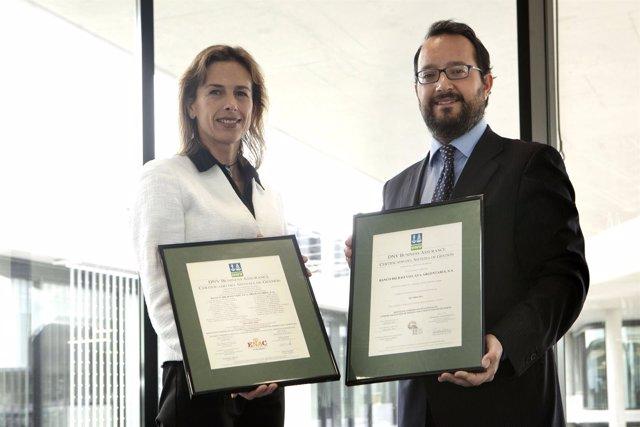 Ciudad BBVA en Madrid recibe la certificación medioambiental ISO 14001